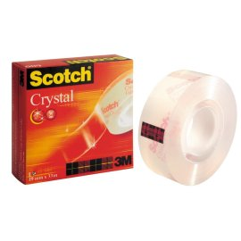 3M Scotch Kristal Bant 19Mm X 33M Kod 600-1933