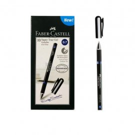 Faber Castell Super True Gel 0,7 Mavi 10'lu