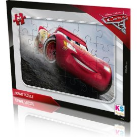 KS Games Cars Frame Puzzle 24