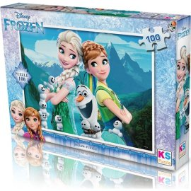 KS Games Frozenpuzzle 100