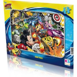 KS Games Mickey Mouse Frame Puzzle 24