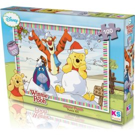 KS Games Winnie The Pooh Puzzle 100