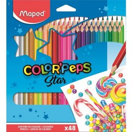 Maped Kuruboya Color Peps 48 Renk 832048Zv